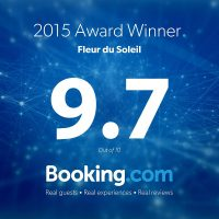 BOOKING.COM AWARD 9.7 2015